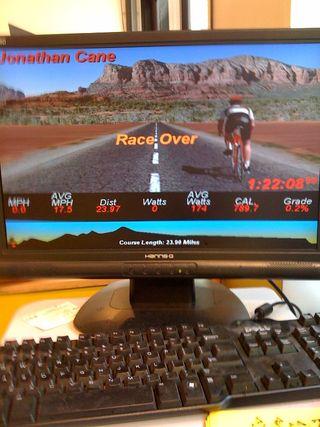 Race over
